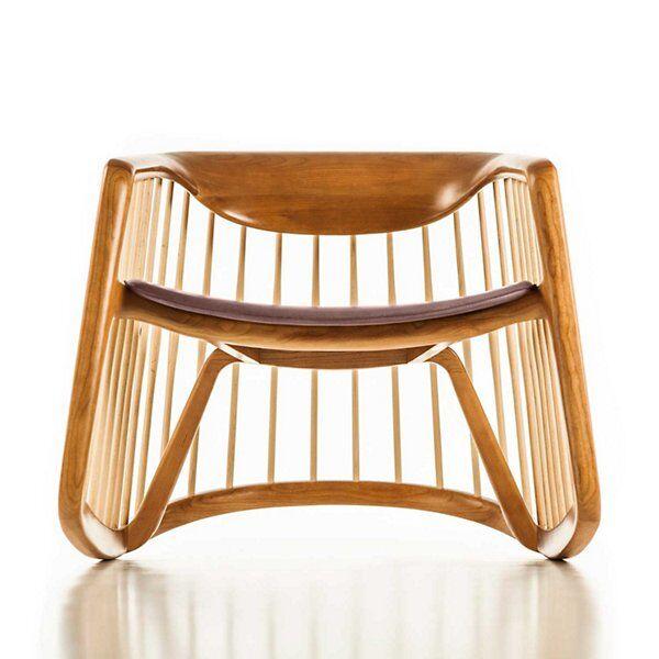 Bernhardt Design Harper Rocking Chair - Color: Orange - 1889_3110_700