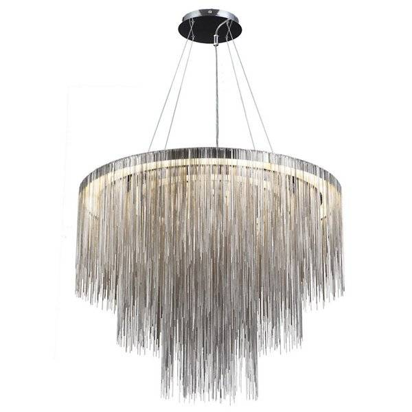 Avenue Lighting Fountain Ave. Multi-Tier Chandelier - Color: Polished Nickel - HF2222-CH