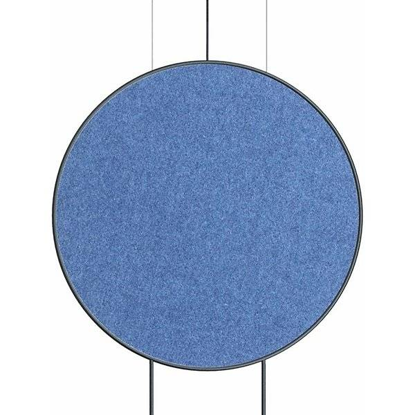 Estiluz Revolta Acoustic Panel - Color: Blue - Size: Large - 123636820