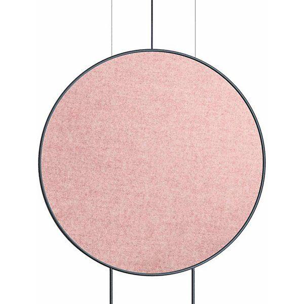 Estiluz Revolta Acoustic Panel - Color: Pink - Size: Large - 123636840