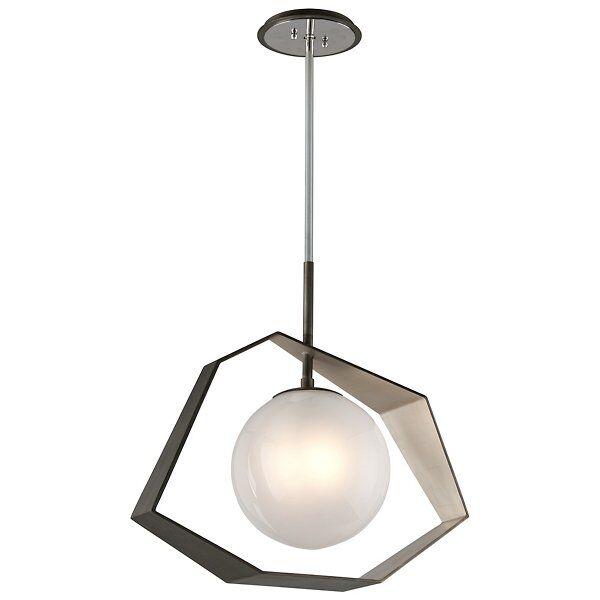 Troy Lighting Origami LED Dining Pendant Light - Color: White - F5536