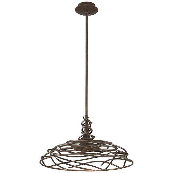 Troy Lighting Sanctuary LED Dining Pendant Light - Color: Metallics - Size: Small - F4187