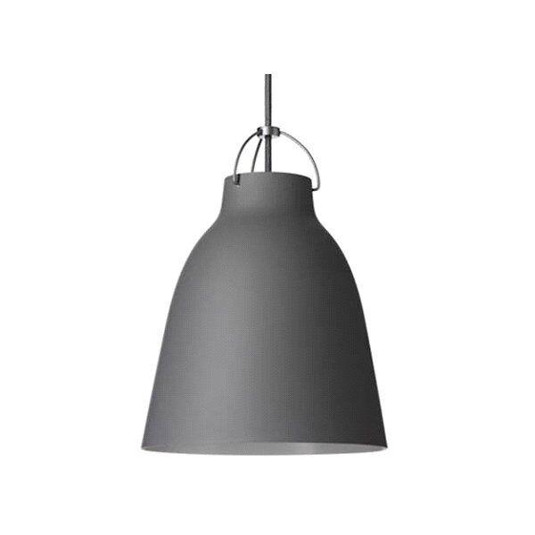 Fritz Hansen (Lightyears) Caravaggio Pendant Light - Color: Grey - Size: Medium - CAR210