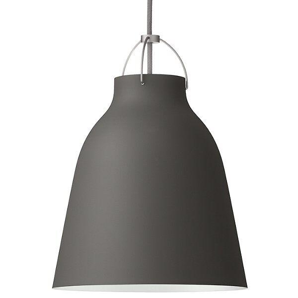 Fritz Hansen (Lightyears) Caravaggio Pendant Light - Color: Grey - Size: Medium - CAR220
