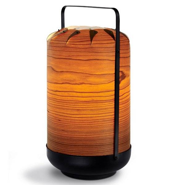 LZF Chou Table Lamp - Color: Orange - Size: Small Low - CHOU MPB E26 UL 25