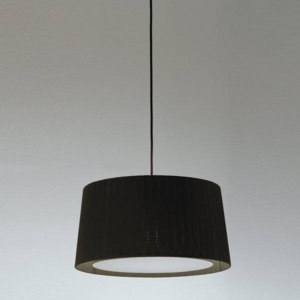 Santa & Cole GT Pendant Light - Color: Black - Size: Medium - SIS13 + GT516