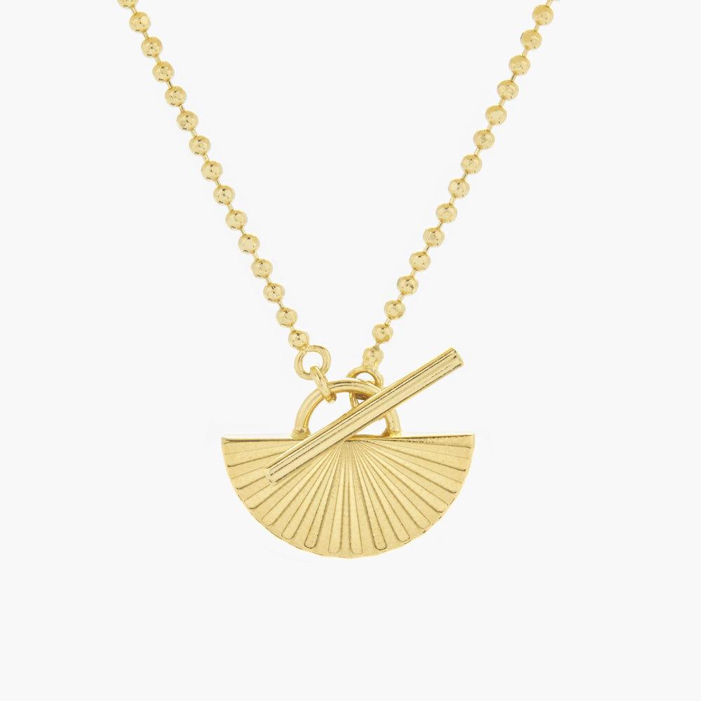 Brook & York Celeste Half Toggle Necklace