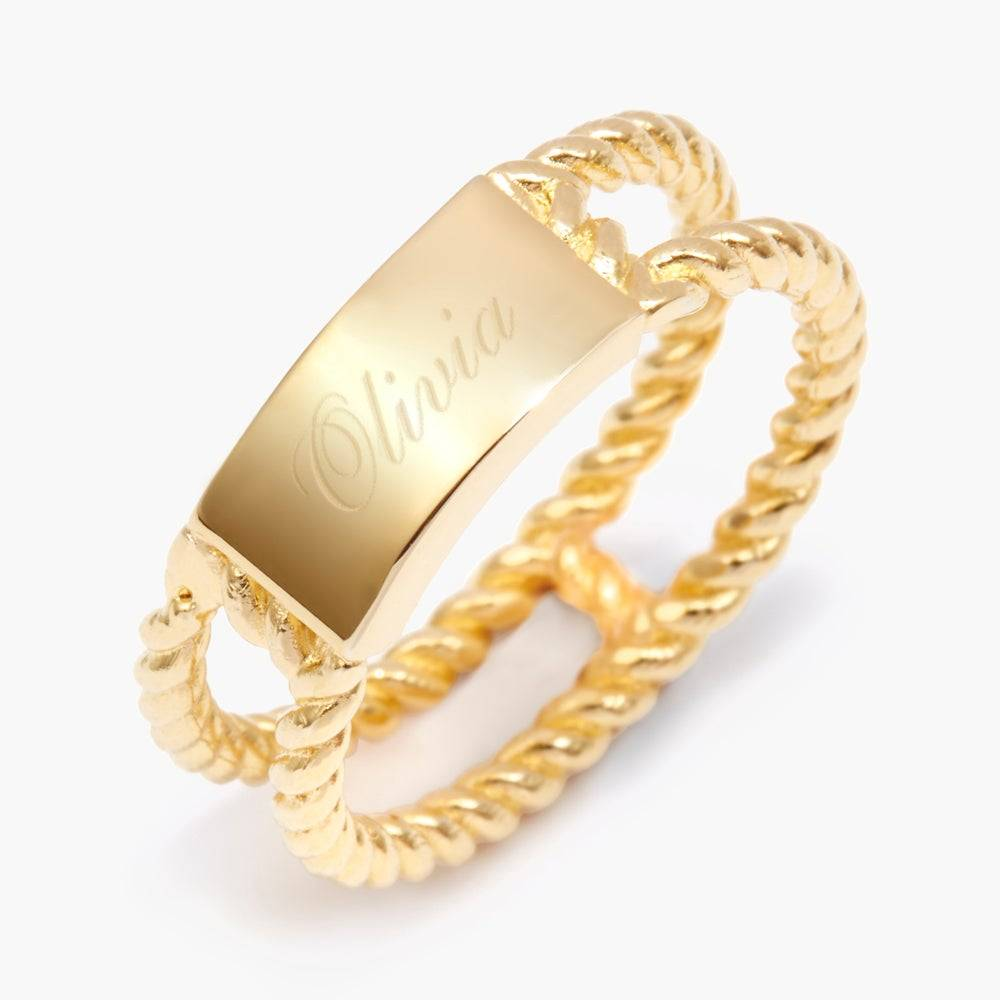 Brook & York Avery Rope Ring - Discontinued