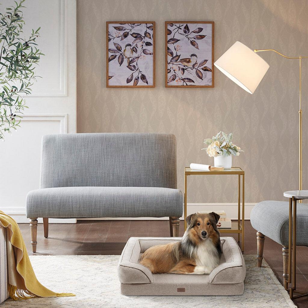 "Martha Stewart - Bella Pet Couch - Tan - 28x36+9"""