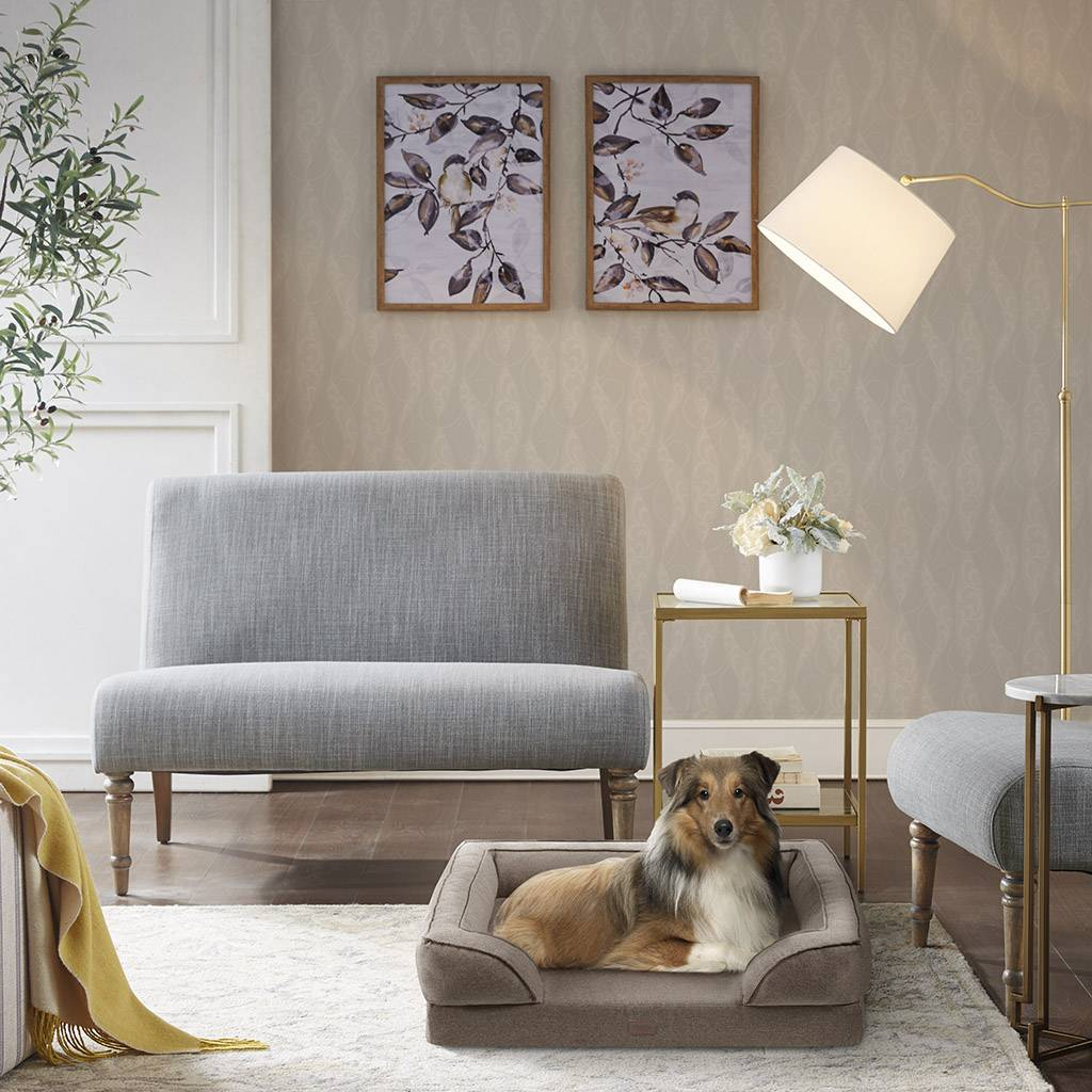 """Martha Stewart - Bella Pet Couch - Brown - 20x25+5.5"""""""