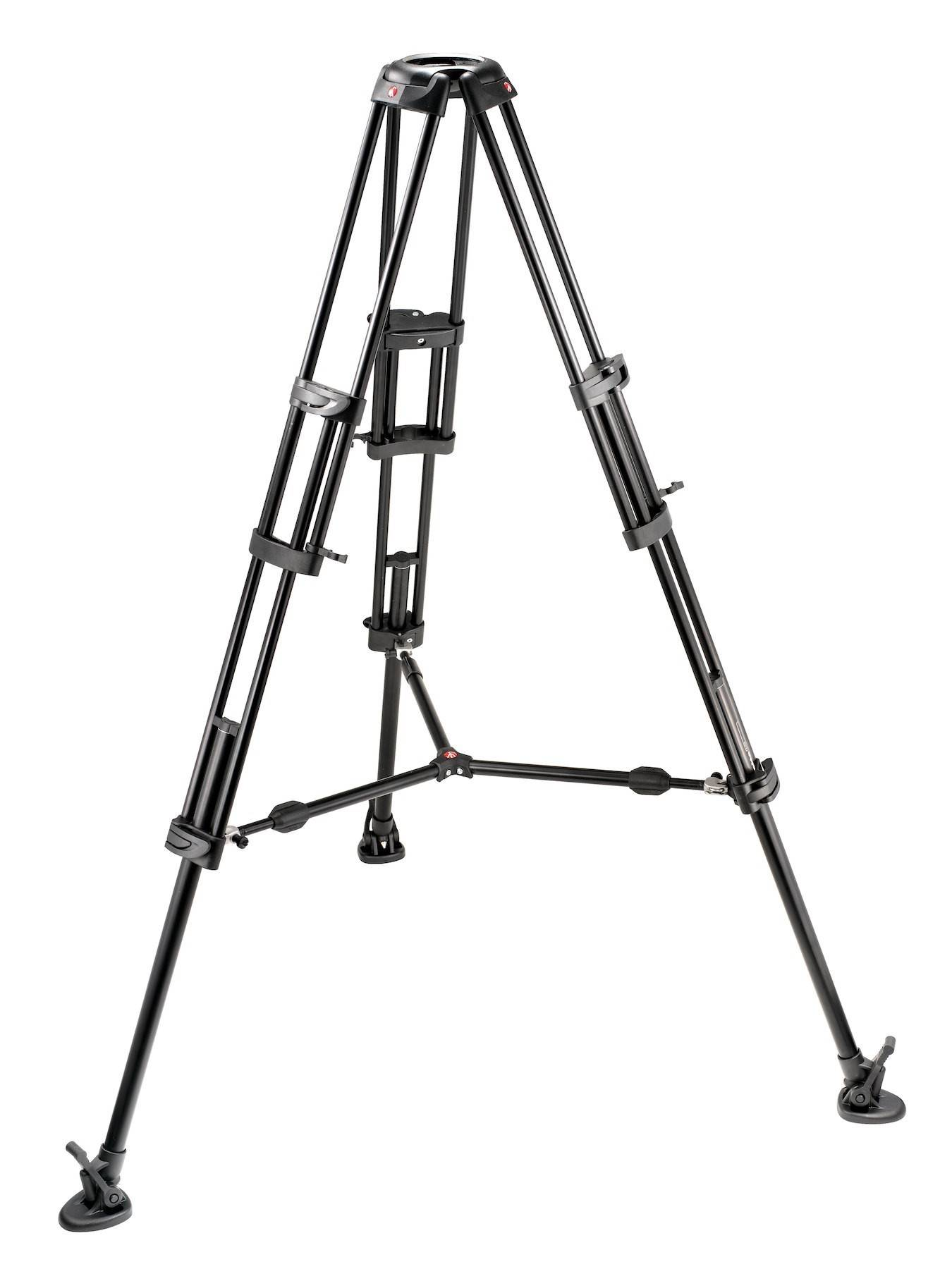 Manfrotto 545B Pro Alu Video Tripod with 2-Stage Tandem Legs