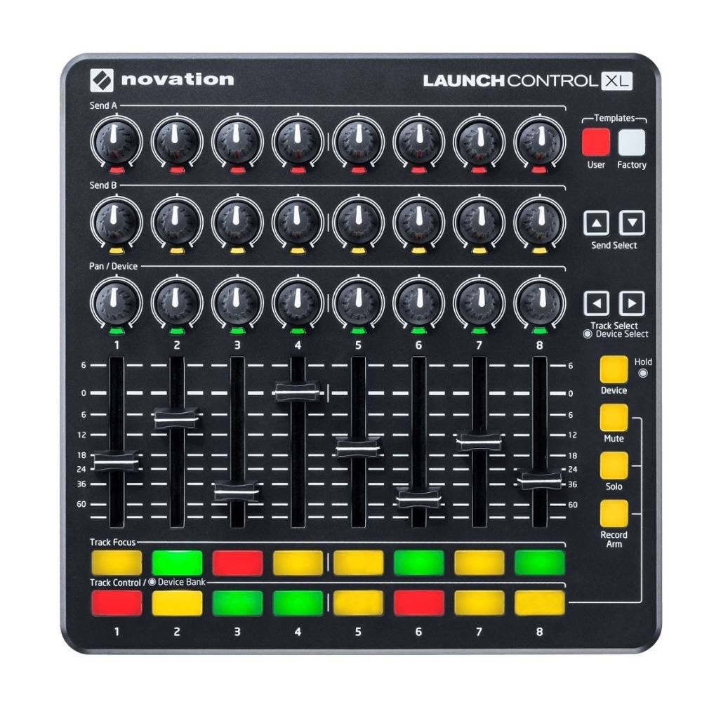 Novation Launch Control XL MIDI USB Ableton Live Controller with HUI Integration