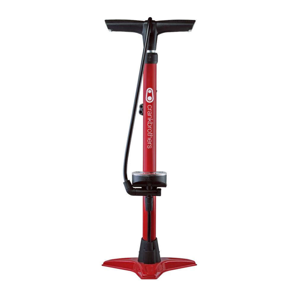 Crank Brothers Crankbrothers Inflator Gem Floor Bike Pump (Red)