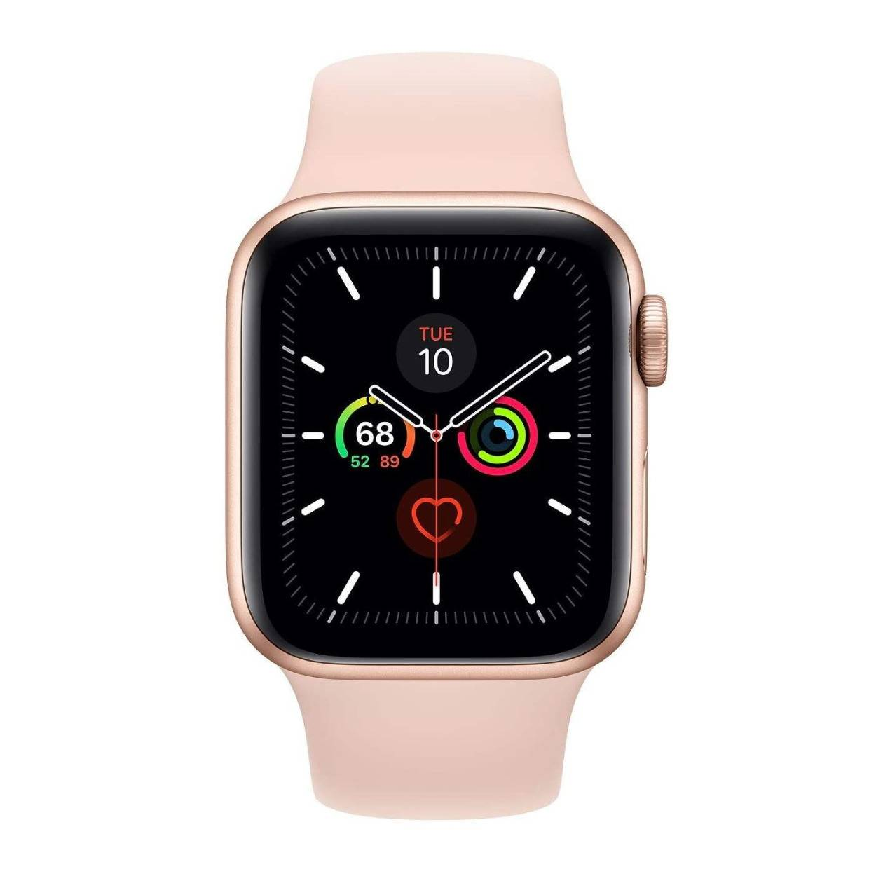 Apple Series 4 40mm GPS and Cellular Watch (Gold Aluminum Case with Pink Sand Sport Loop)