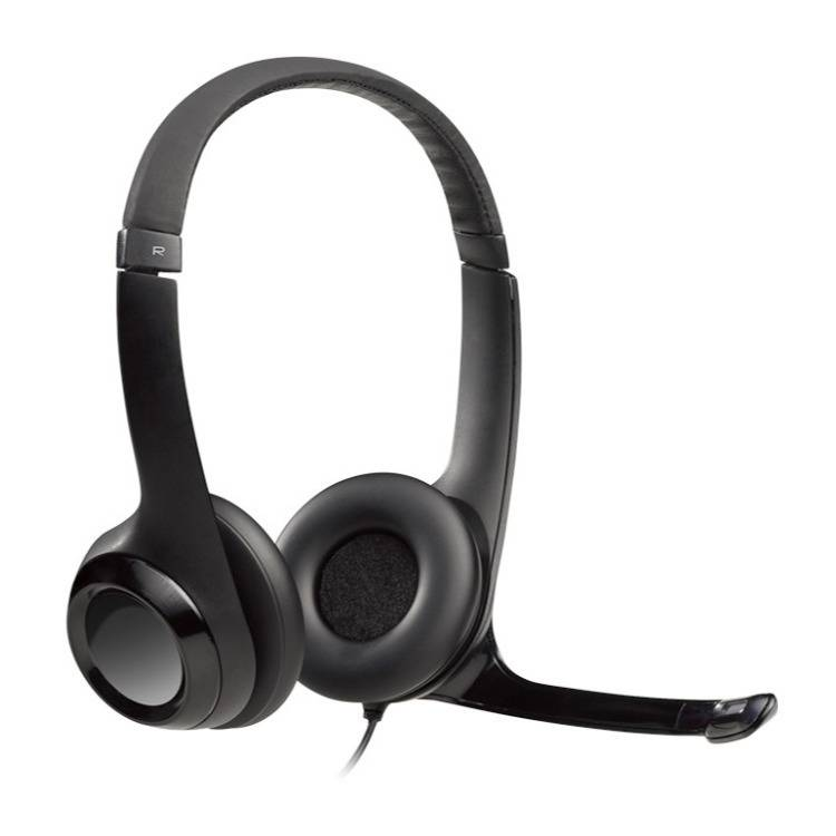 Logitech H390 USB Headset with Noise-Canceling Mic