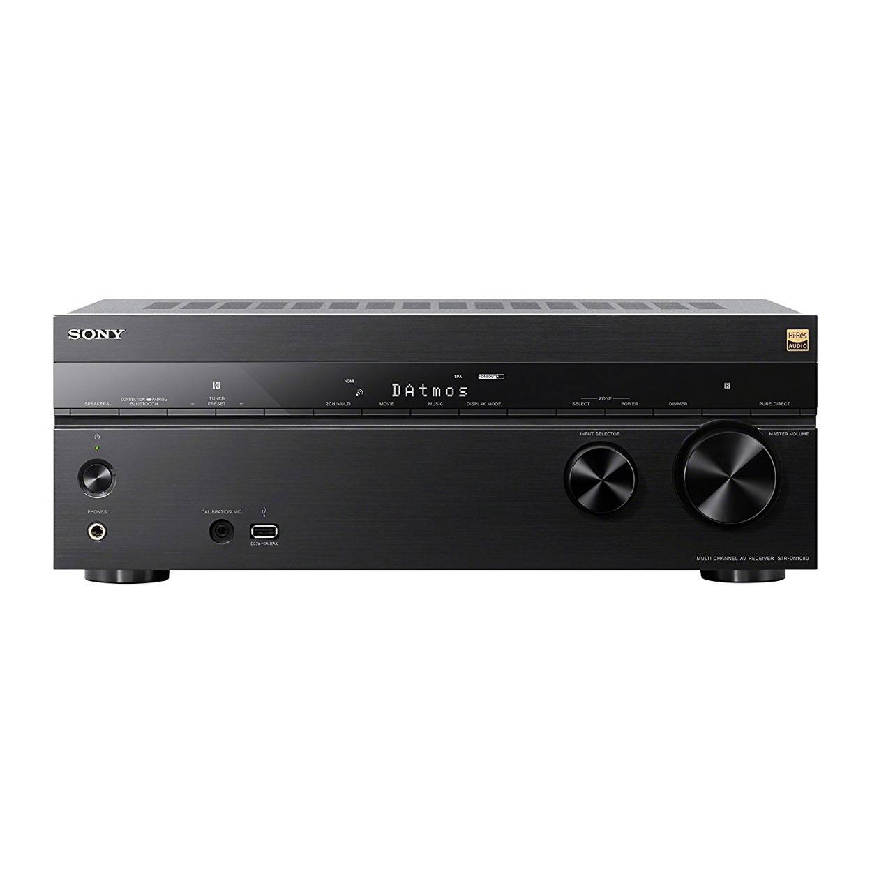 Sony STR-DN1080 7.2-Channel Dolby Atmos Surround Sound Wi-Fi Network AV Home Theater Receiver