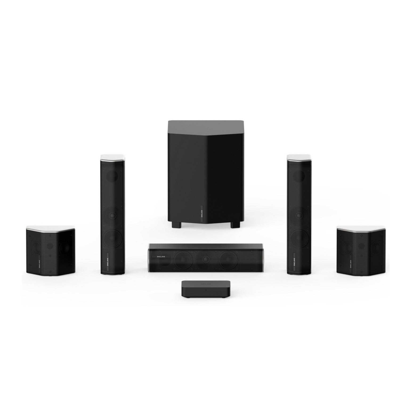 Enclave Audio Technologies CineHome II CineHub Edition 5.1-Channel Wireless Home Theater System