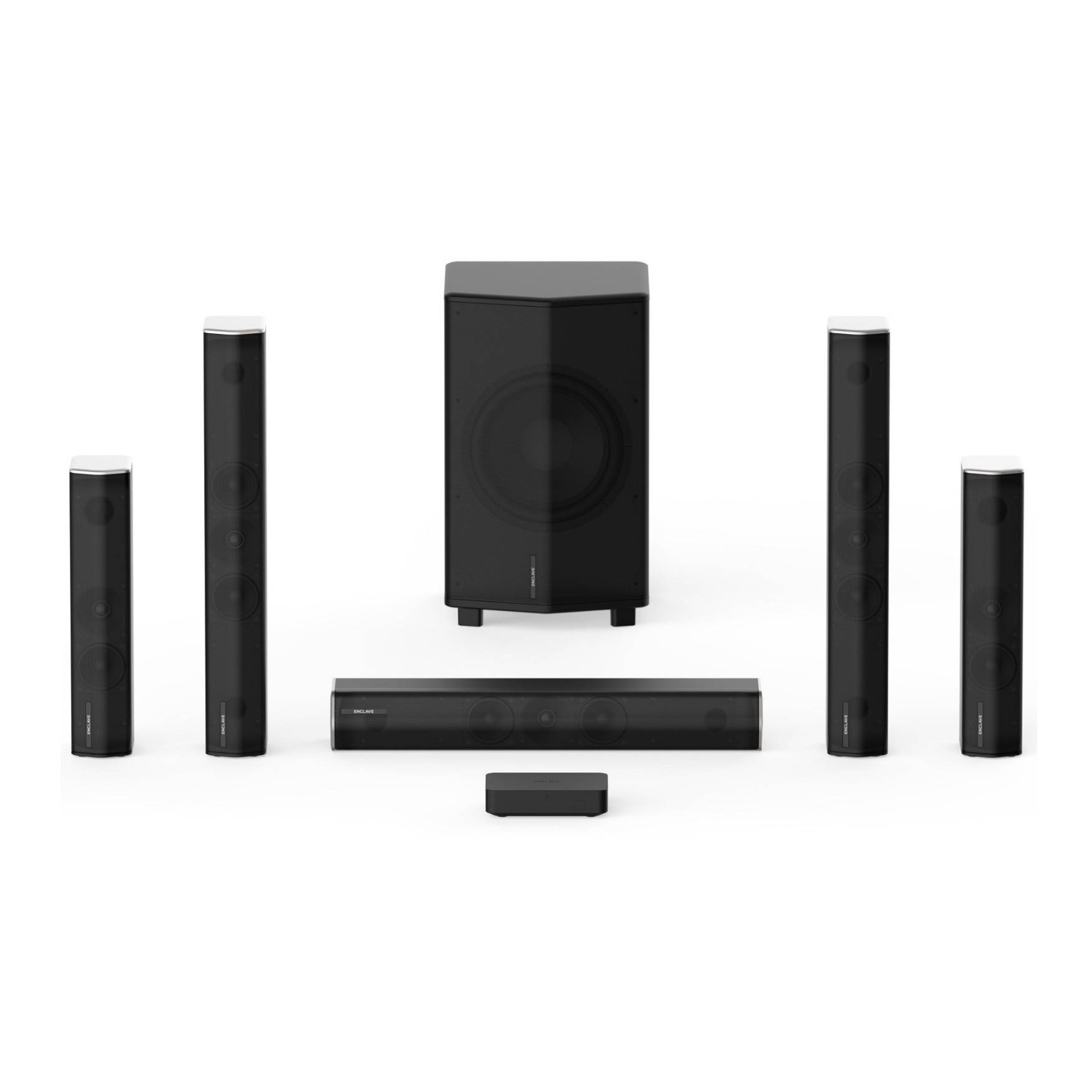 Enclave Audio Technologies CineHome Pro CineHub Edition THX-Certified 5.1-Channel Wireless Home Theater System