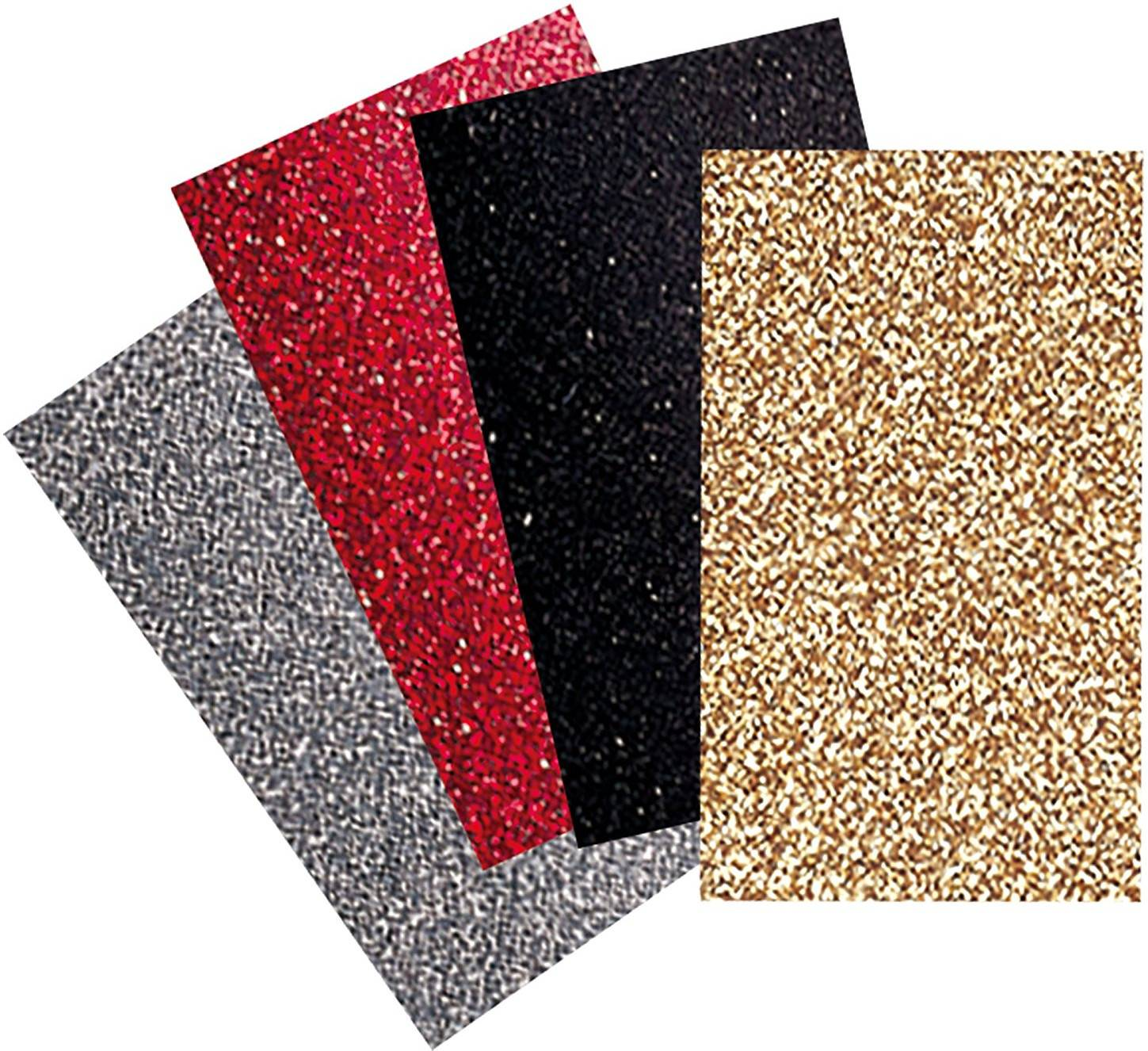 Brother ScanNCut CATG01 Iron-On Transfer Glitter Sheets (Basic Colors)