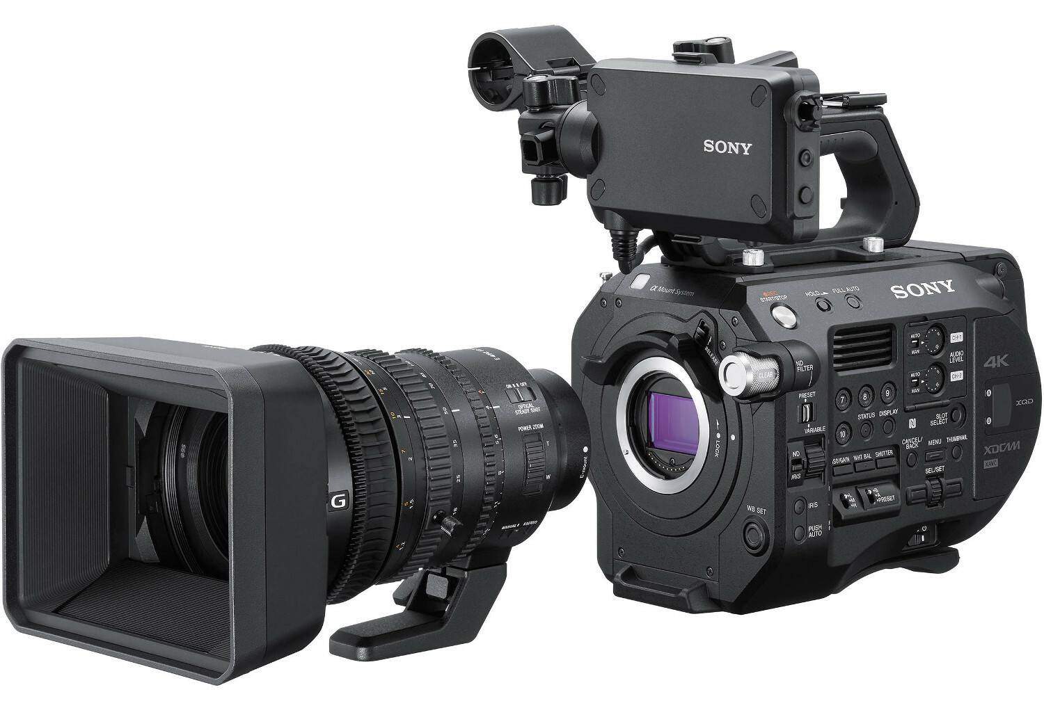 Sony PXW-FS7M2 4K XDCAM Super35 Compact Camcorder with 18-110mm E-Mount Power Zoom Lens