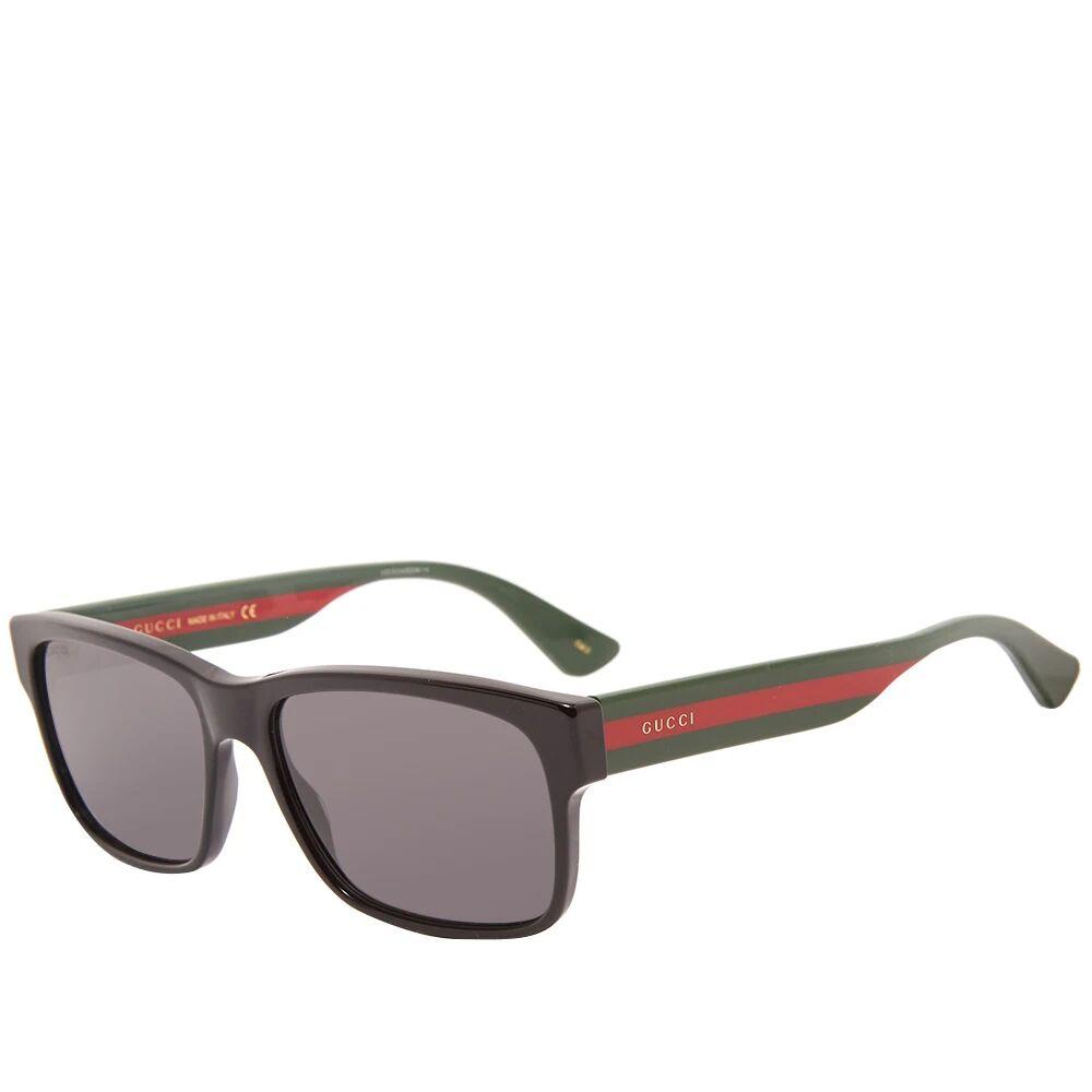 Gucci Eyewear Gucci Sylvie Striped Sunglasses
