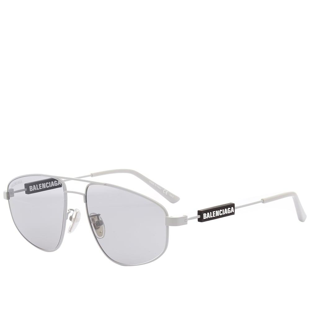Balenciaga Tag Metal Sunglasses