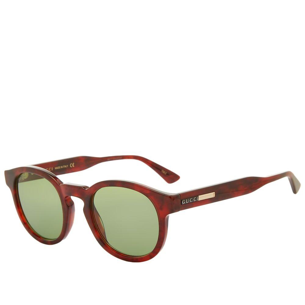 Gucci Eyewear Gucci Round-Frame Acetate Sunglasses