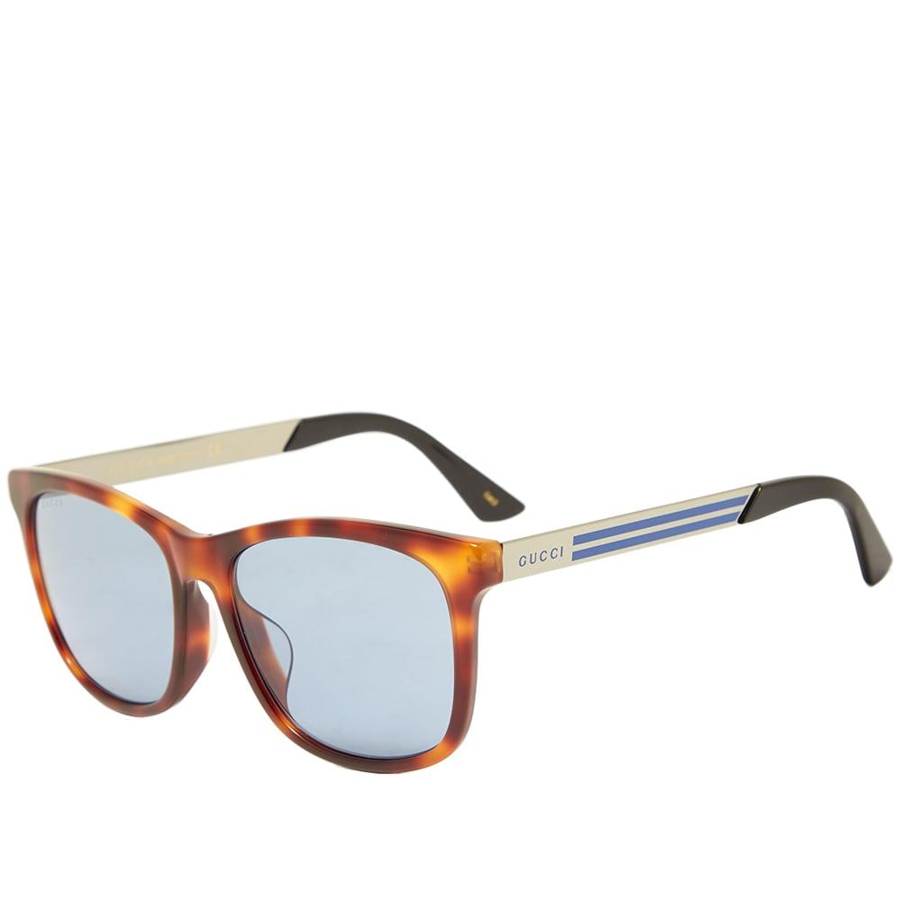 Gucci Eyewear Gucci Sporty Web Sunglasses