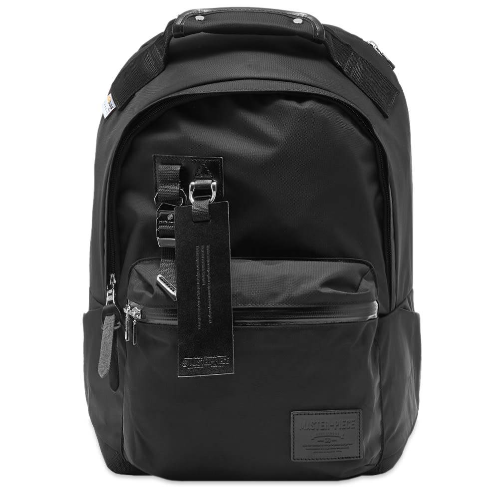 Master-Piece Potential Leather Trim Backpack