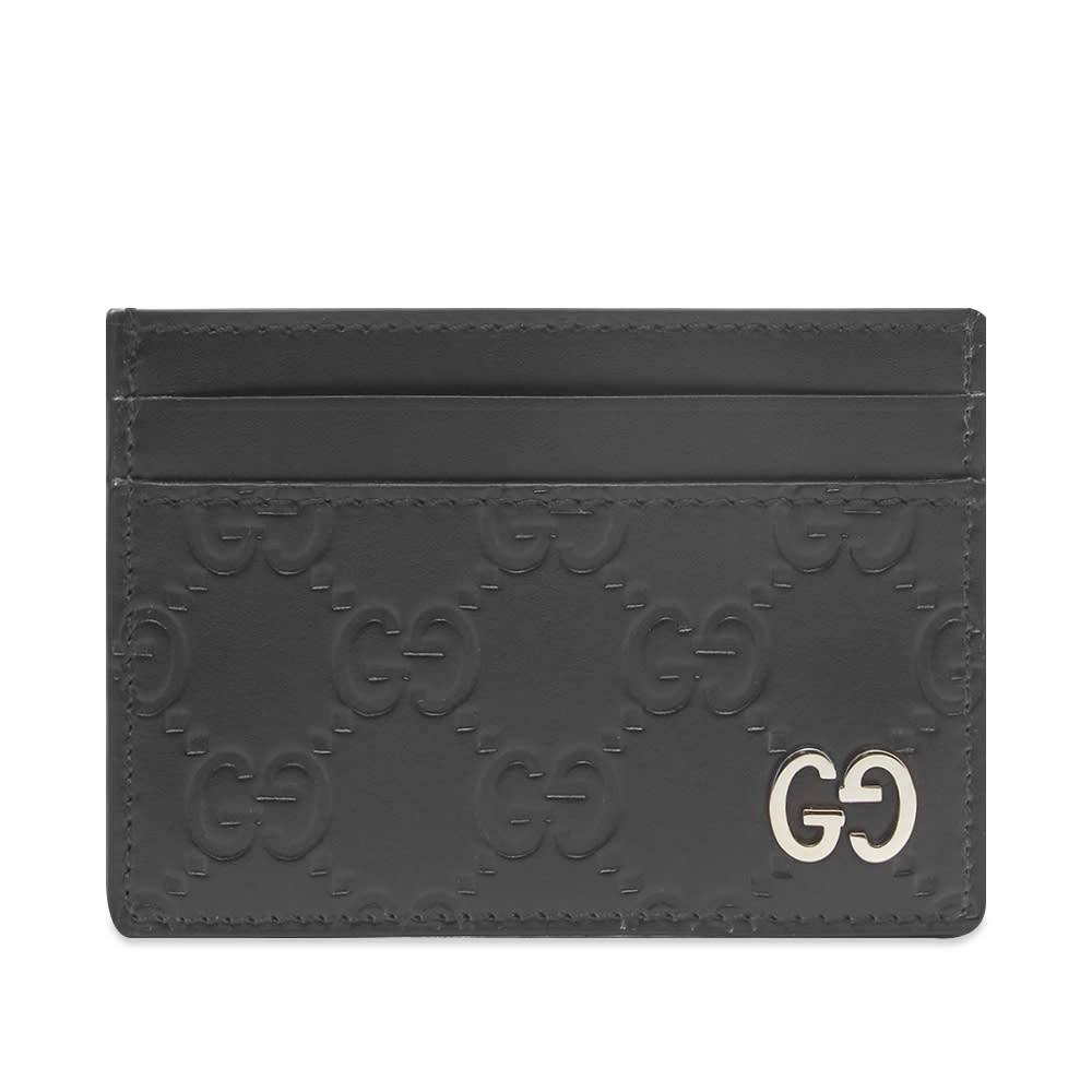 Gucci GG Embossed Card Holder