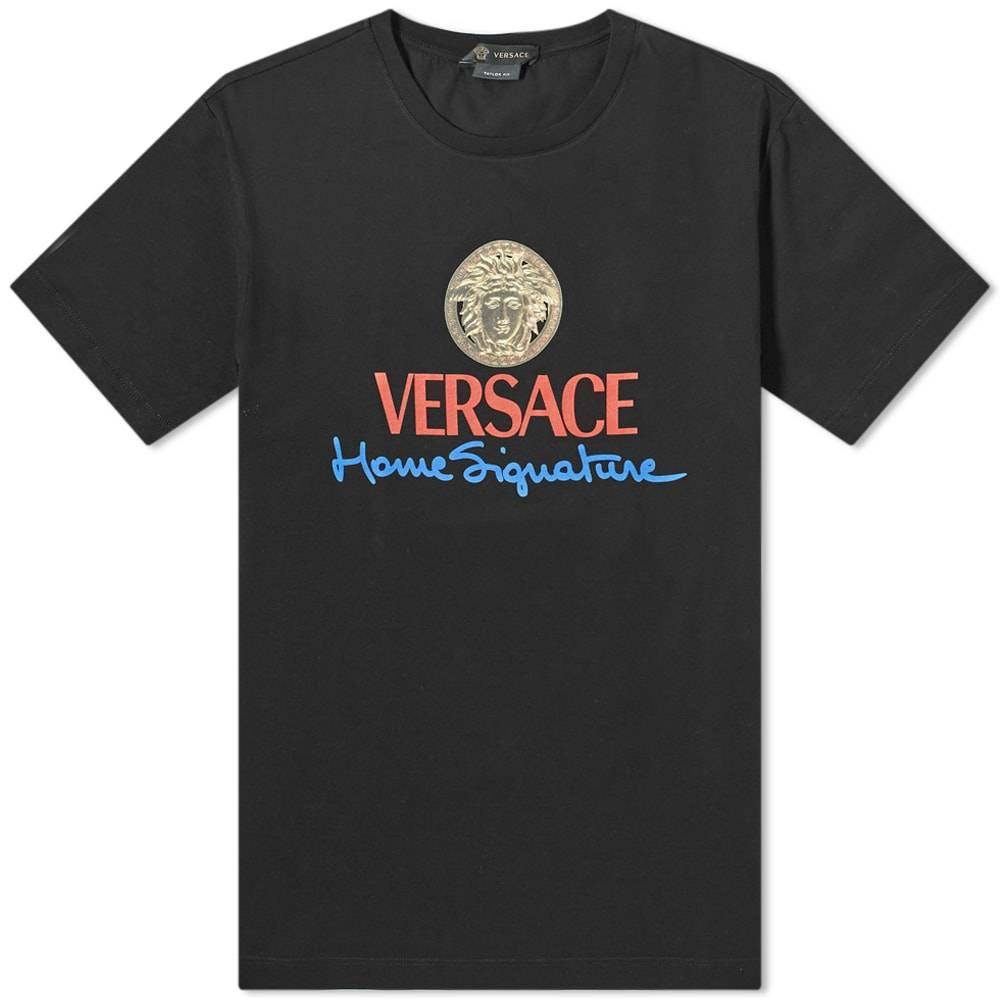 Versace Signature Home Logo Tee