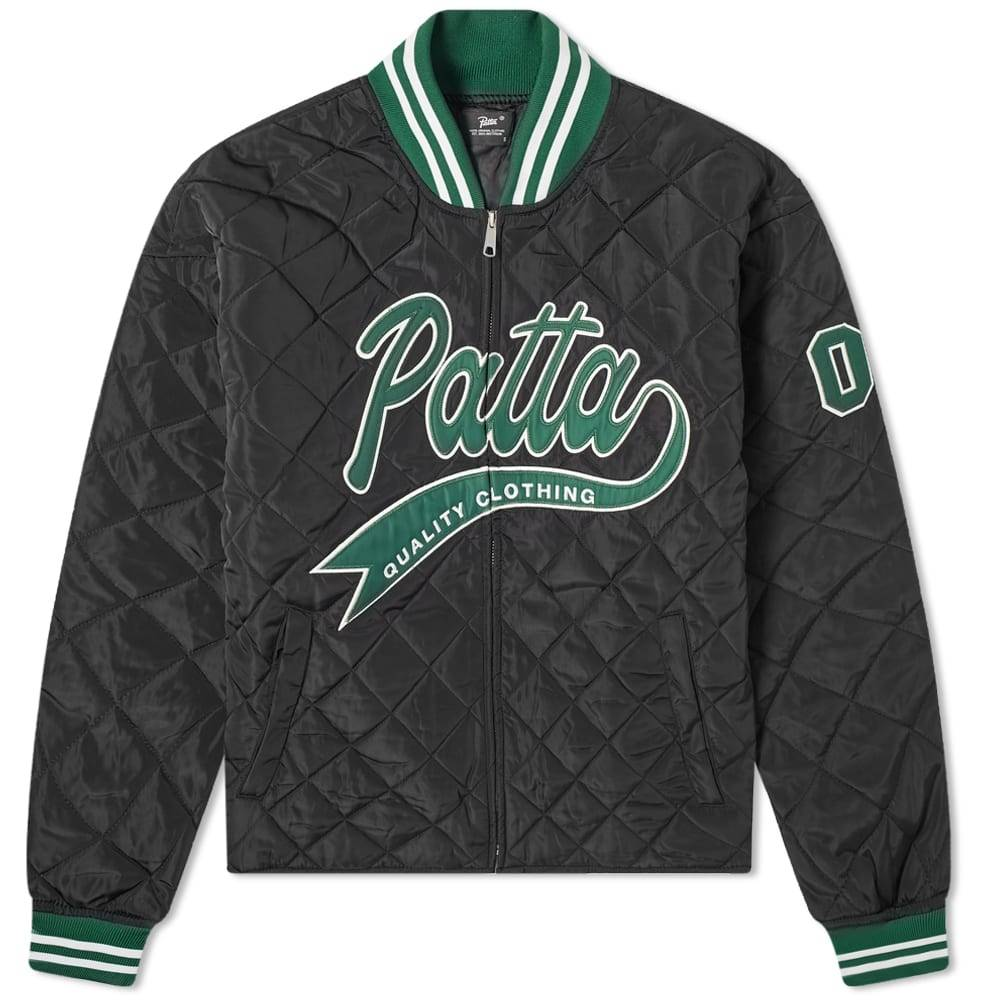 Patta Quilted Sports Jacket