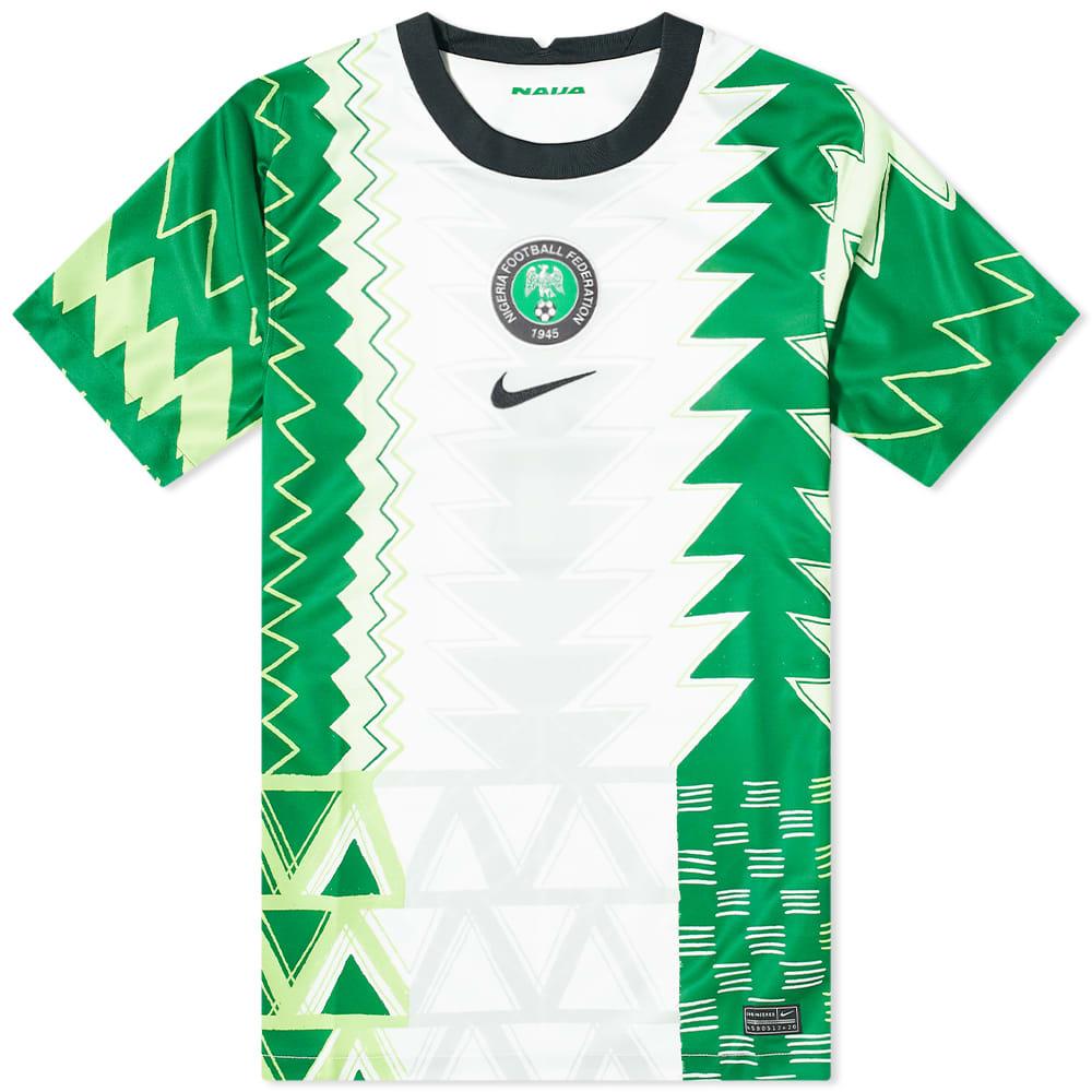Nike Nigeria Home Stadium Jersey