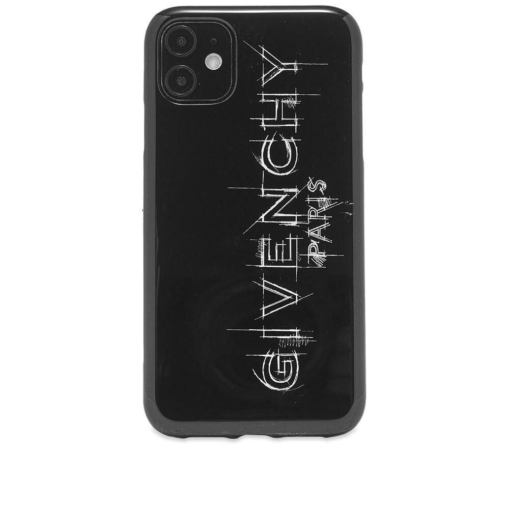 Givenchy Sketch Logo iPhone 11 Case