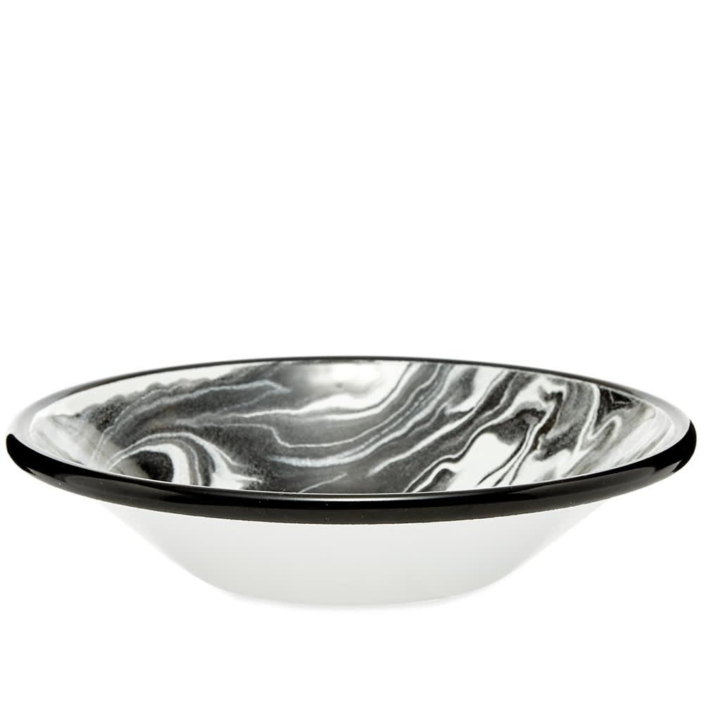 BORNN Enamelware Classic Marble 16cm Bowl