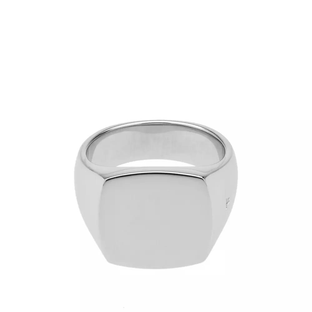 Tom Wood Cushion Polished Ring