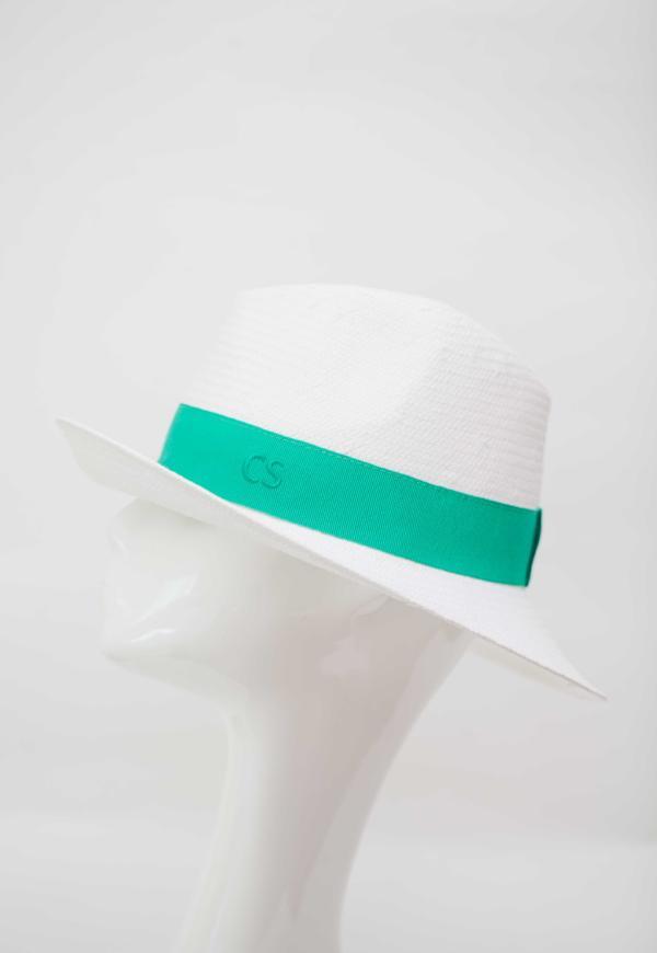 Carmen Sol Dolores Packable Fedora hat - Green S