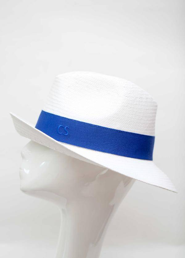 Carmen Sol Dolores Packable Fedora hat - Dark Blue M