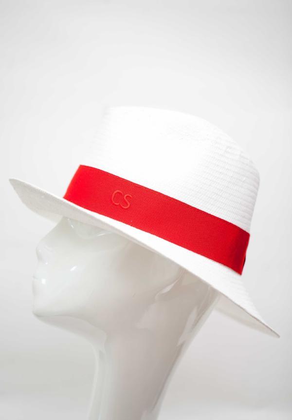 Carmen Sol Dolores Packable Fedora hat - Red M