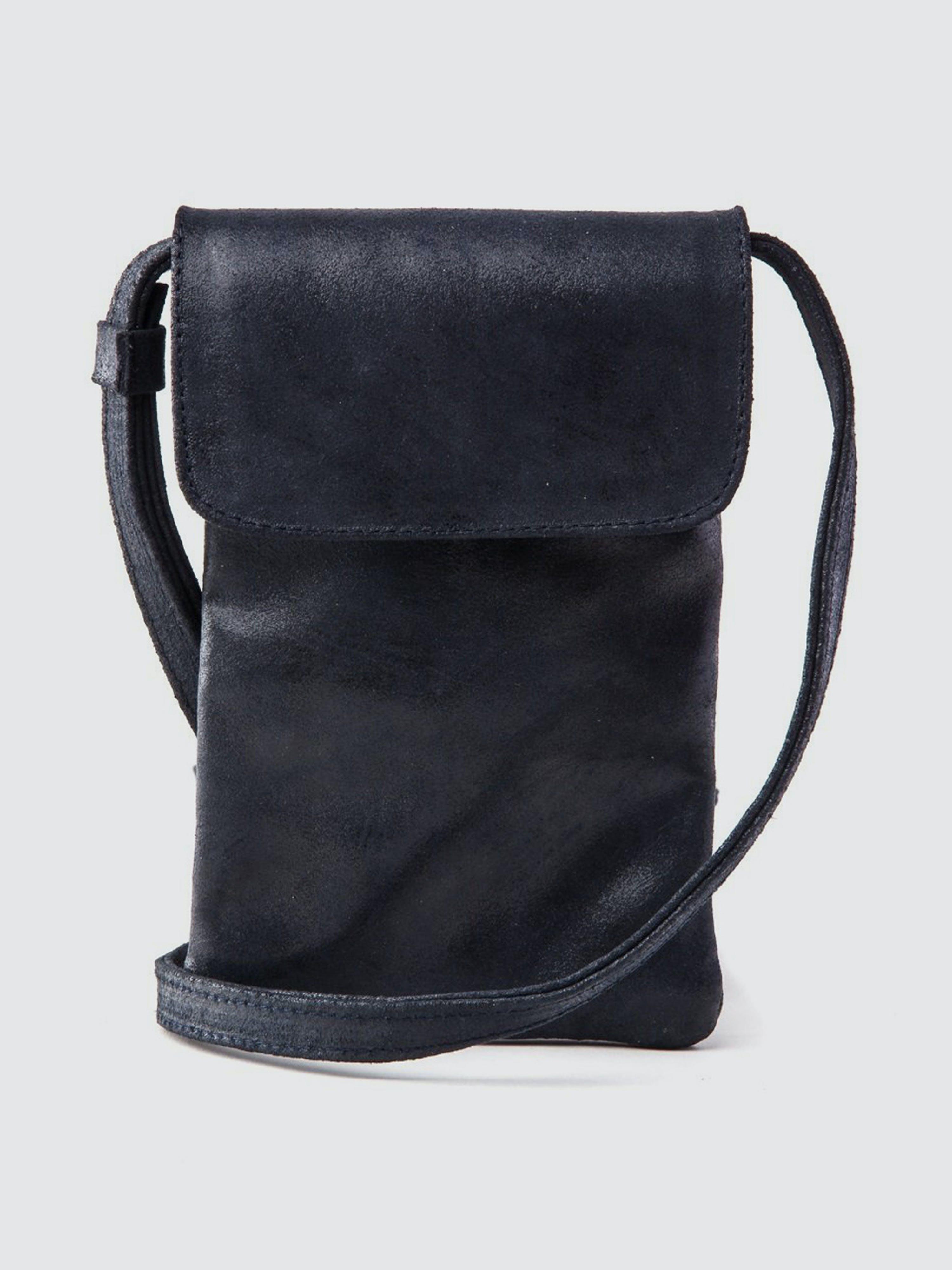 CoFi Leathers Penny Phone Bag: Navy  - Blue