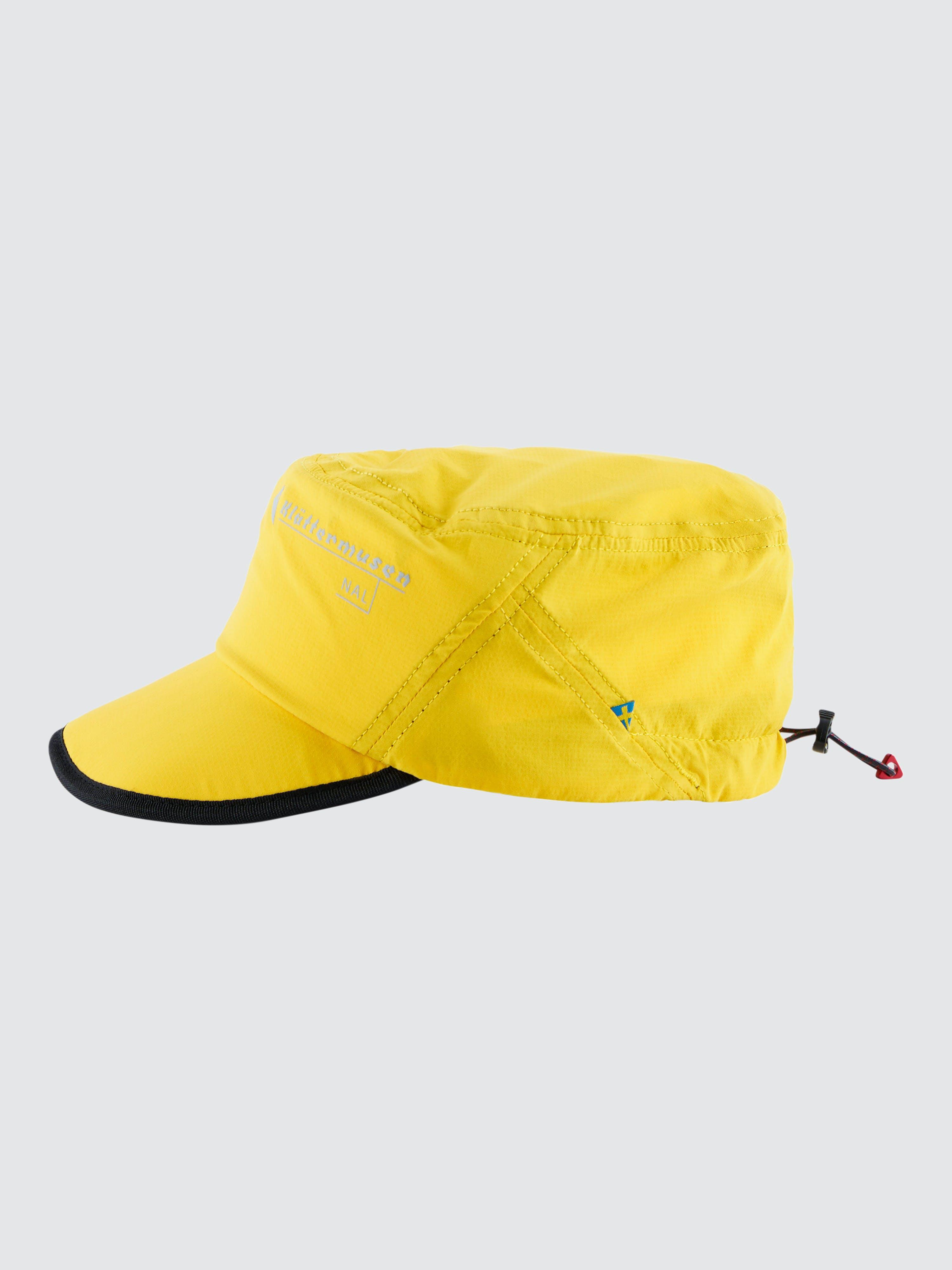 Klattermusen Nal Cap - ONE/SIZE  - Yellow