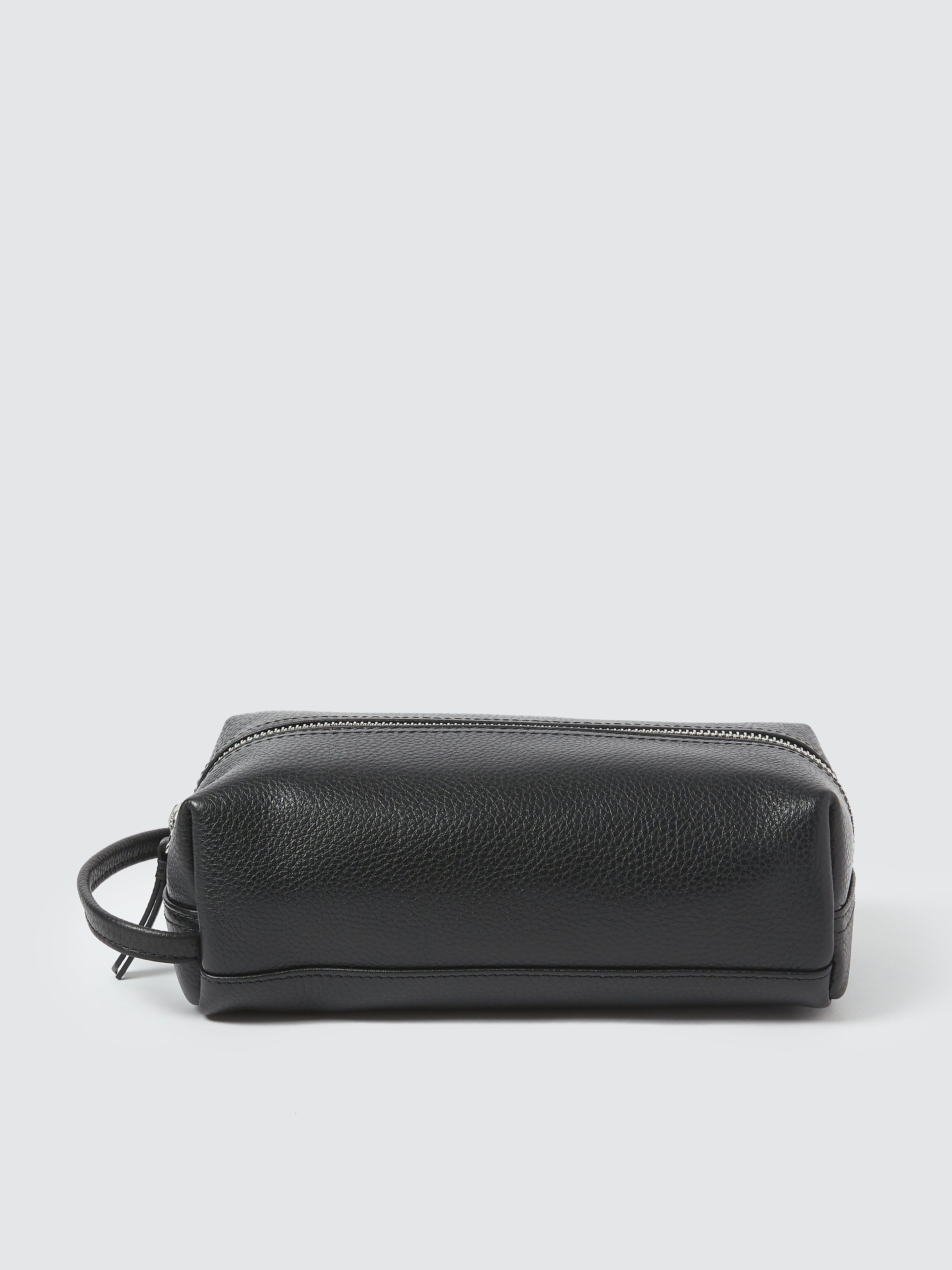 ROYCE New York Compact Toiletry Bag  - Black