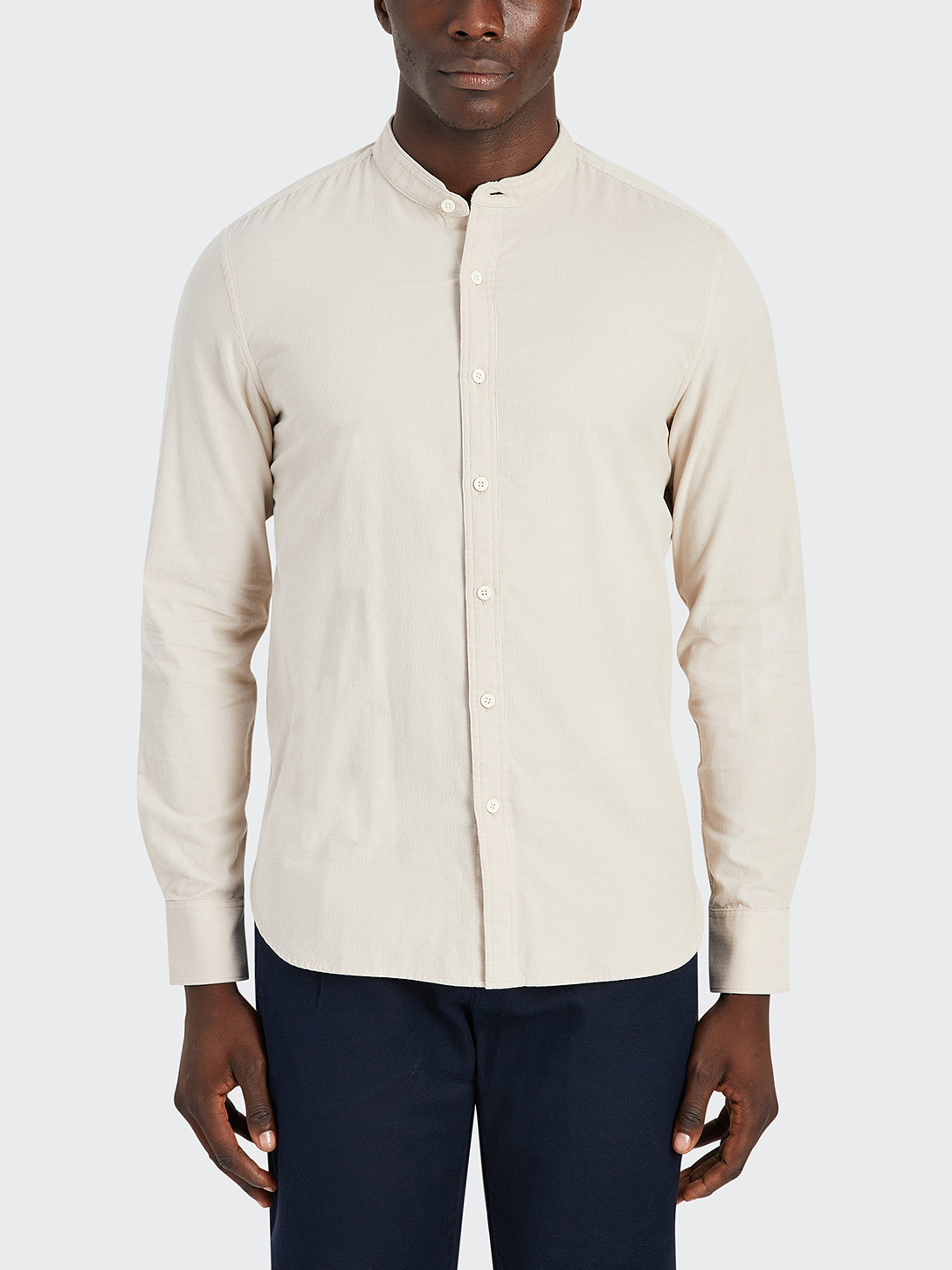 ONS Clothing Aleks Cord Shirt  - White