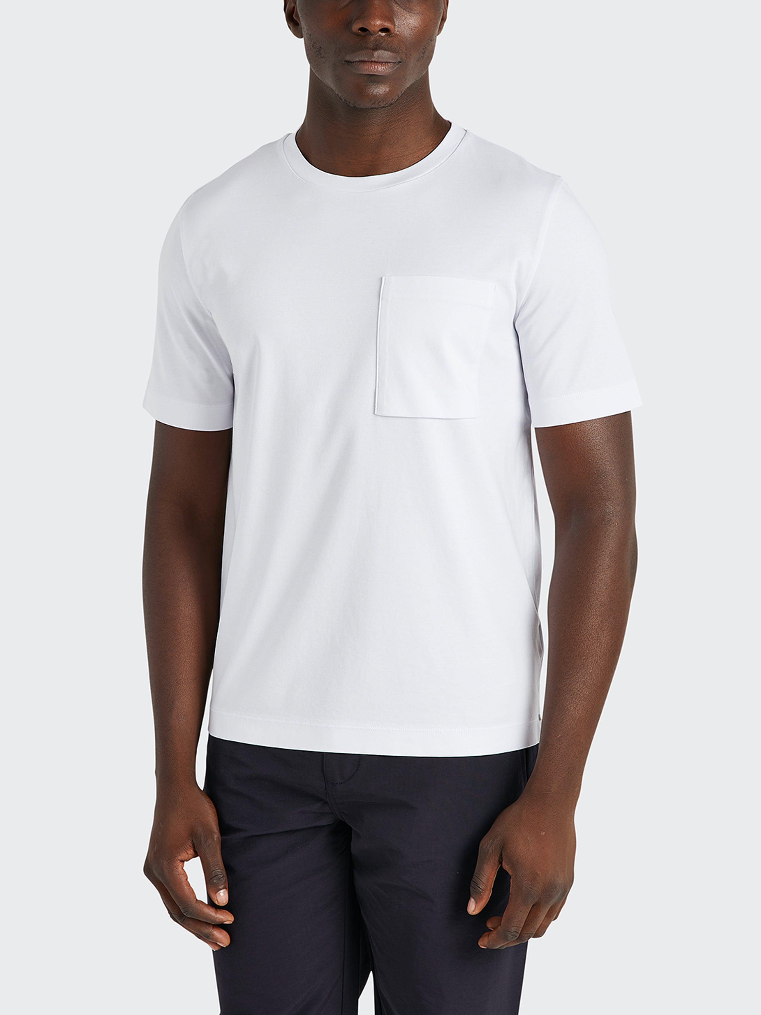 ONS Clothing Baseile Pocket Tee  - White