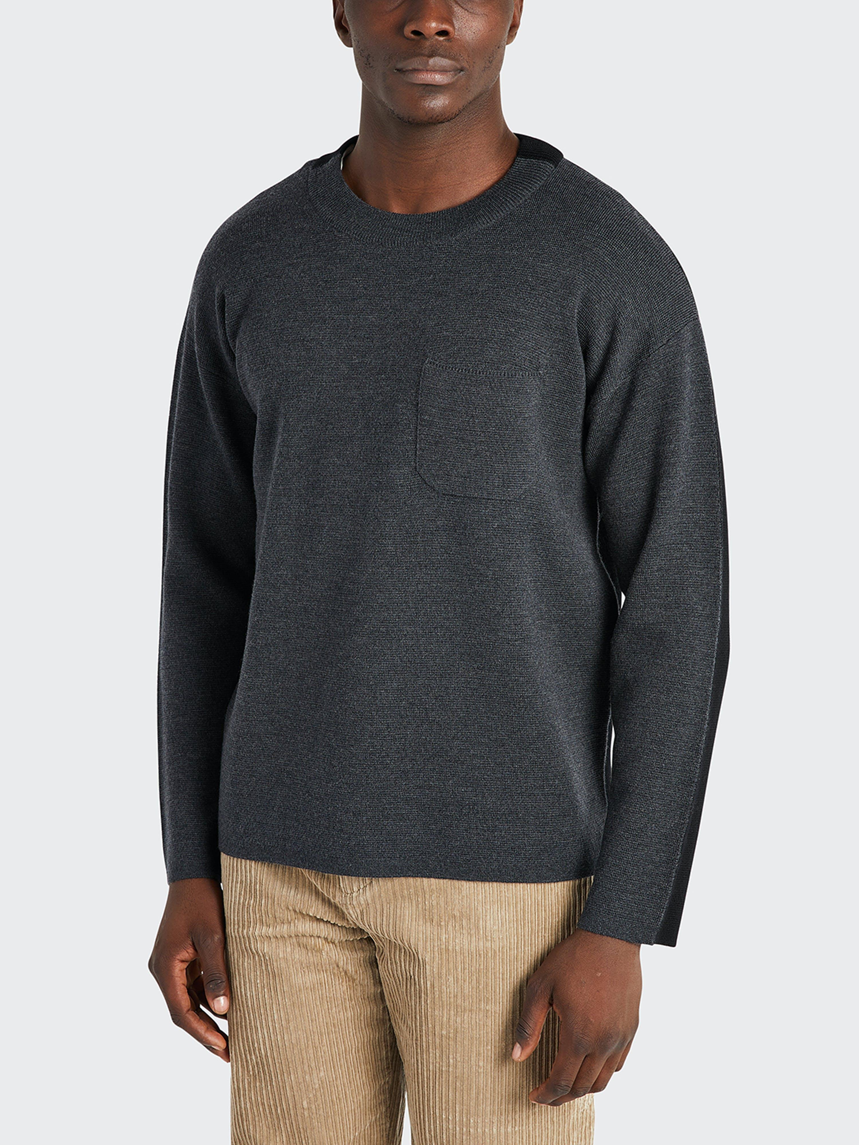 ONS Clothing Ealing Pocket Sweater  - Grey