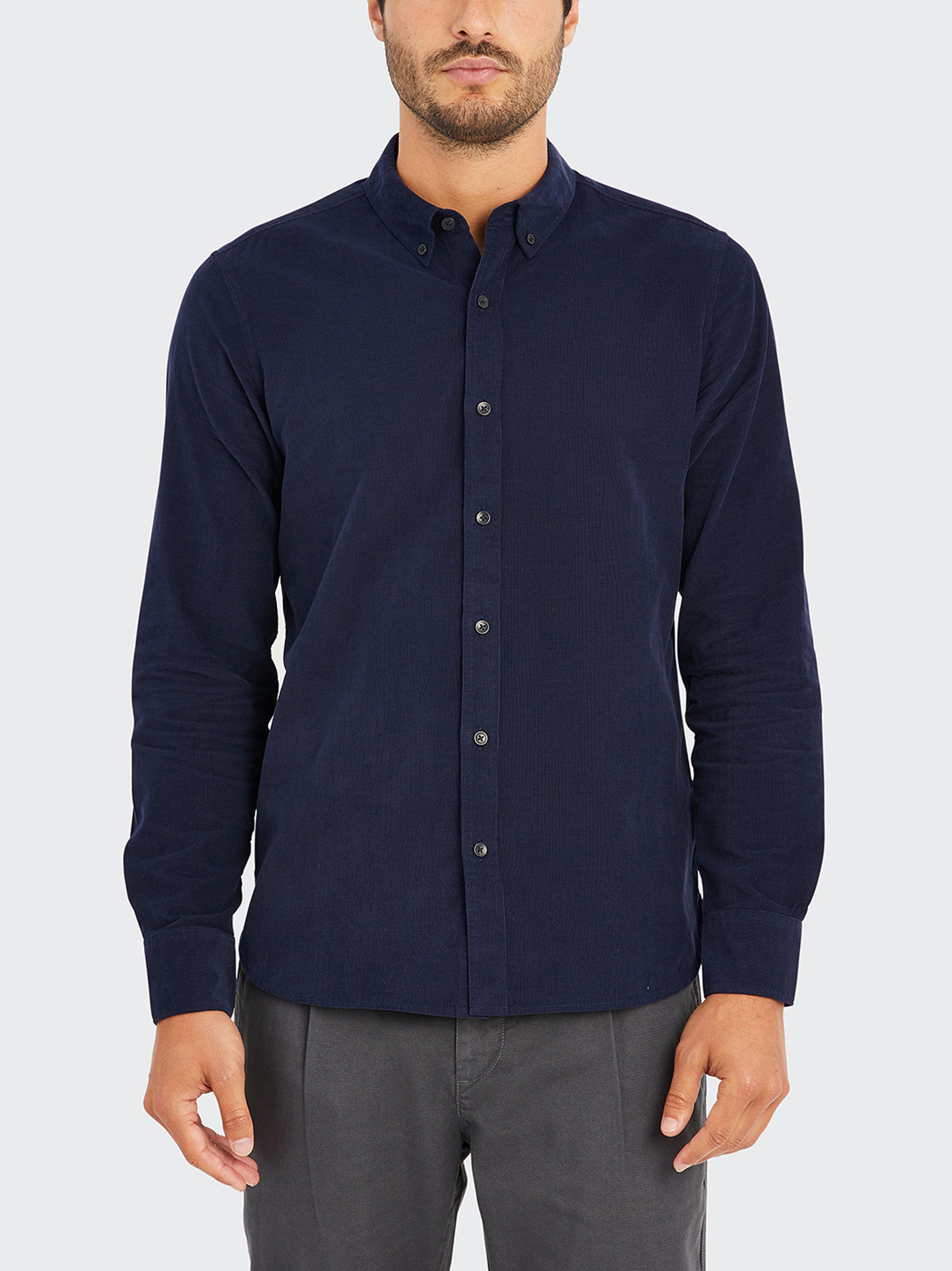 ONS Clothing Fulton Cord Shirt  - Blue