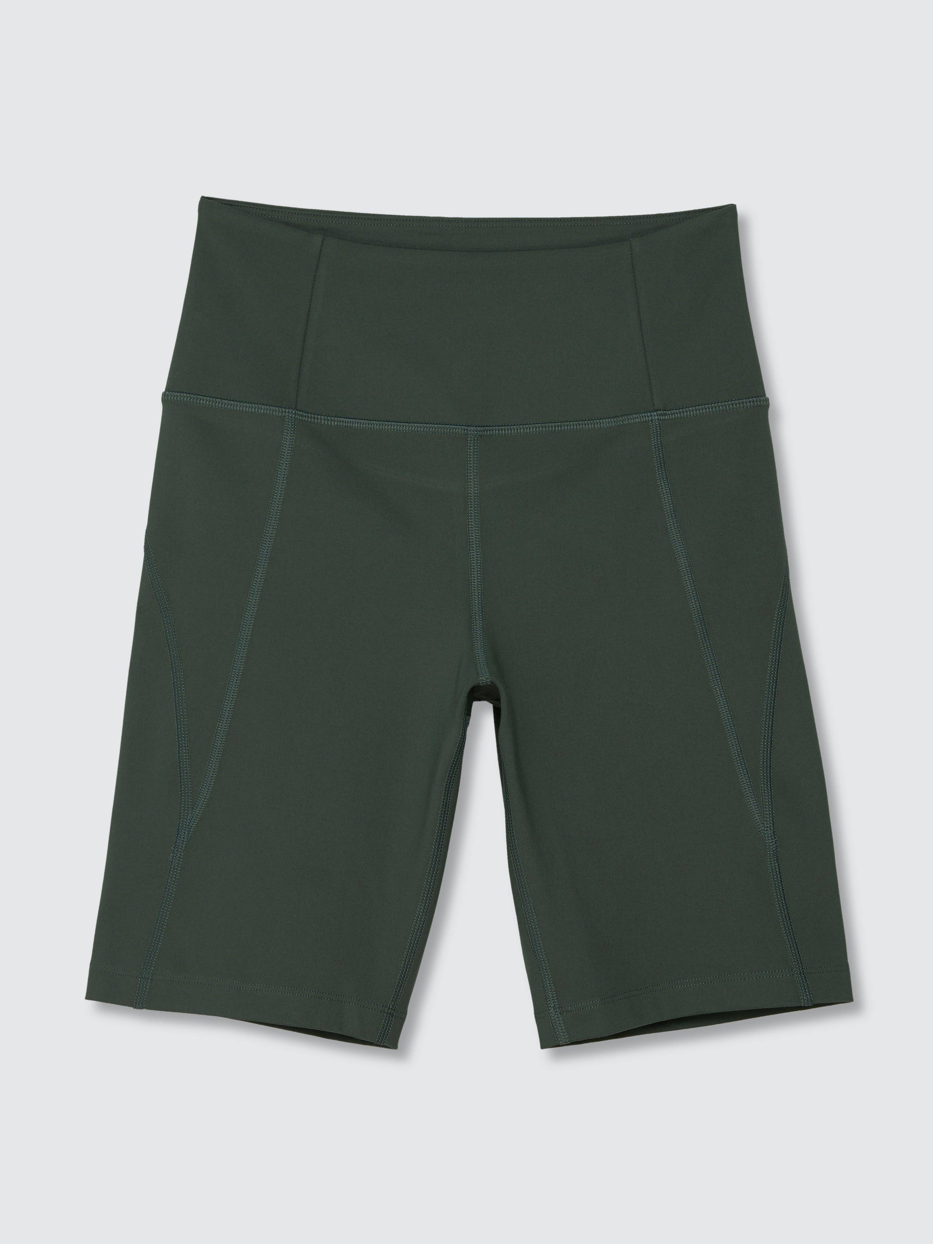 Girlfriend Collective High-Rise Bike Short - XS - Also in: L, XL, M, S  - Grey