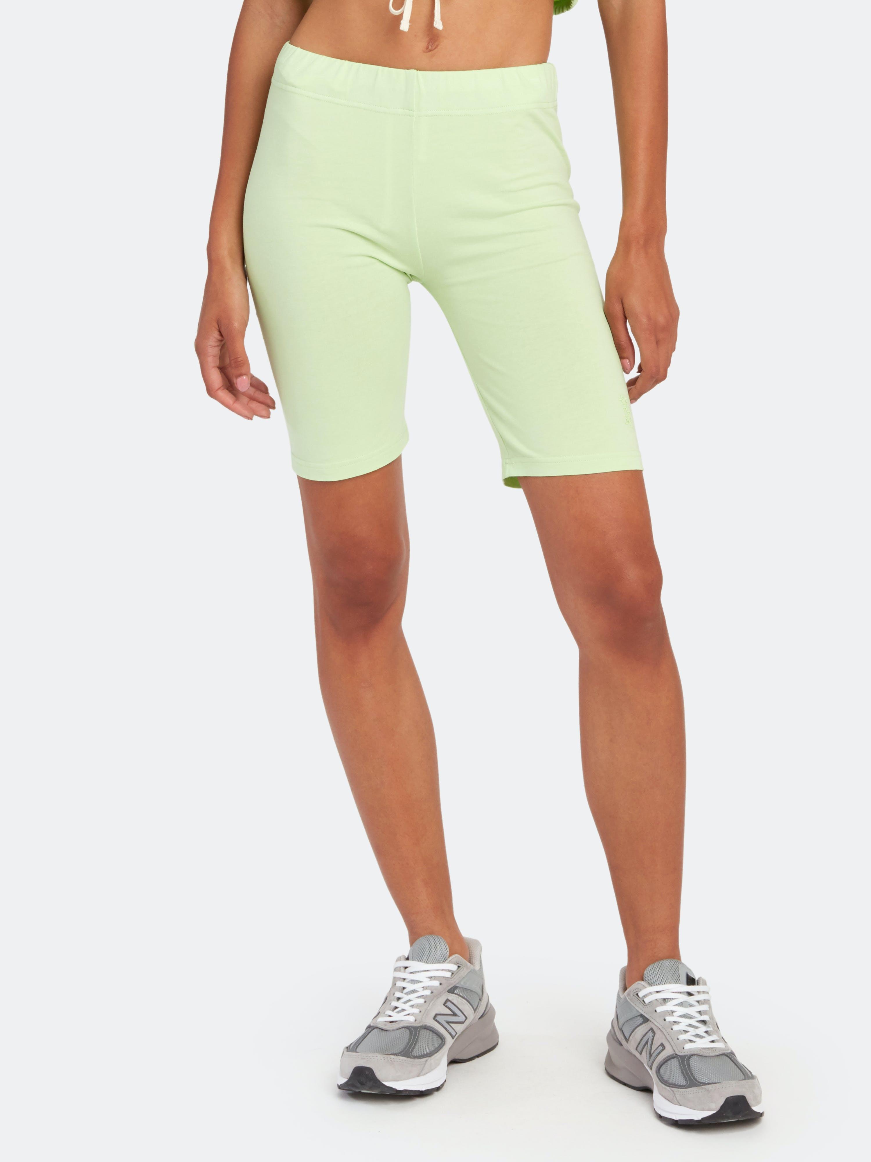 Les Girls Les Boys Tight Bike Shorts - L - Also in: M, XL, S, XS  - Green