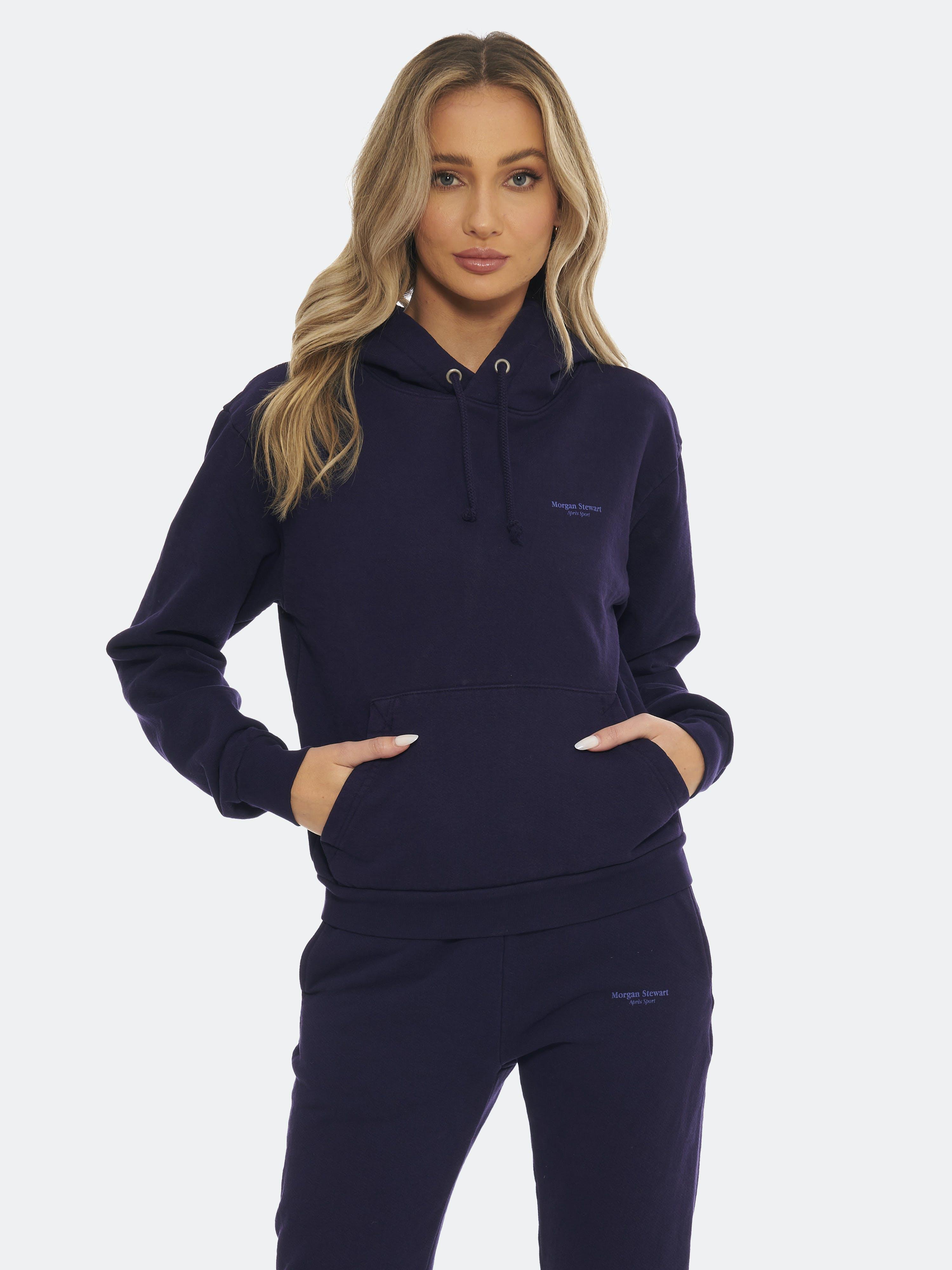 Morgan Stewart Sport Hoodie - XS - Also in: S, M, L  - Blue