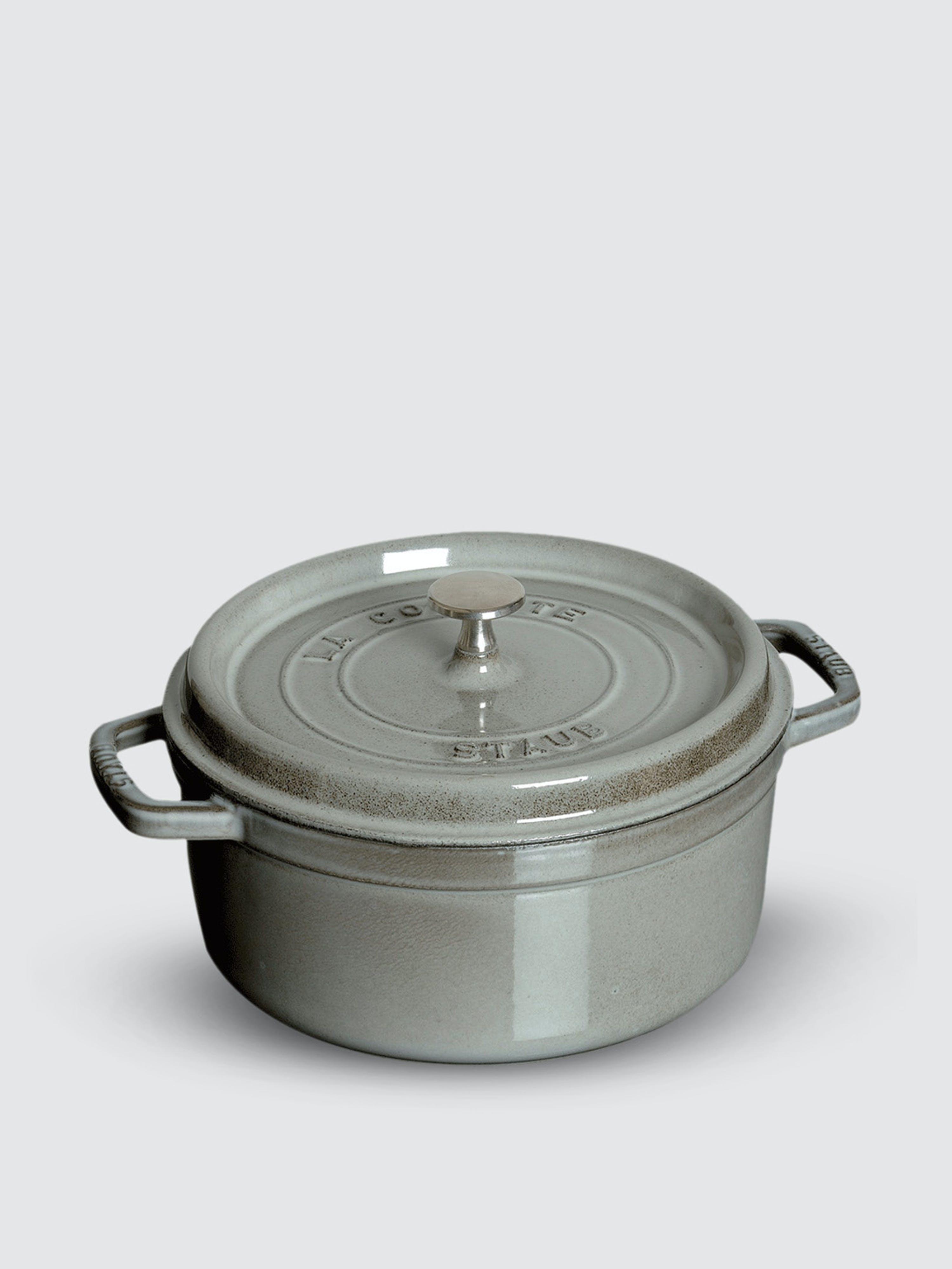 Staub - Verified Partner 2.75-Qt Round Cocotte  - Grey